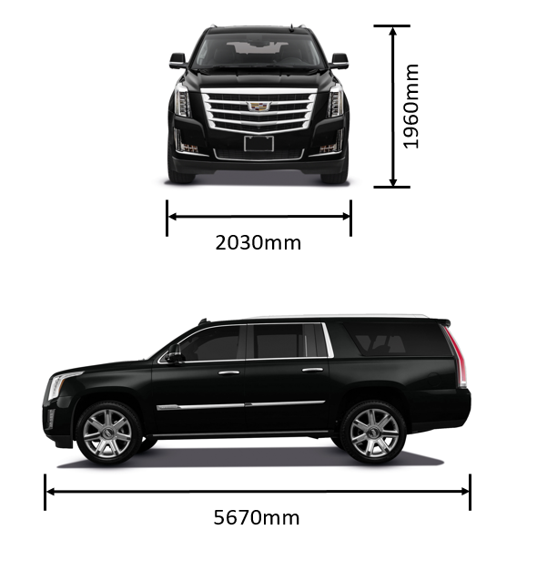 Cadillac dimensions
